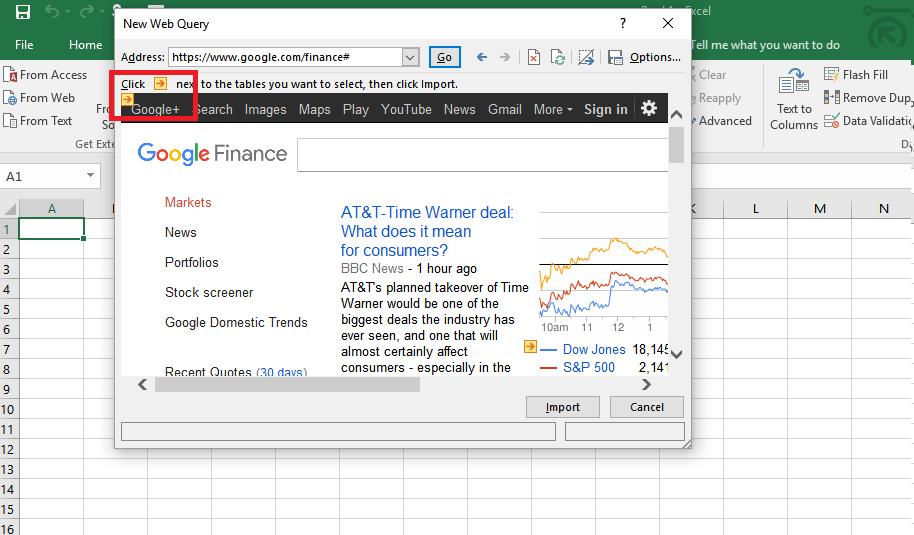 Cào dữ liệu ư!, Crawling ư!, Tại sao Microsoft Excel lại không thể?