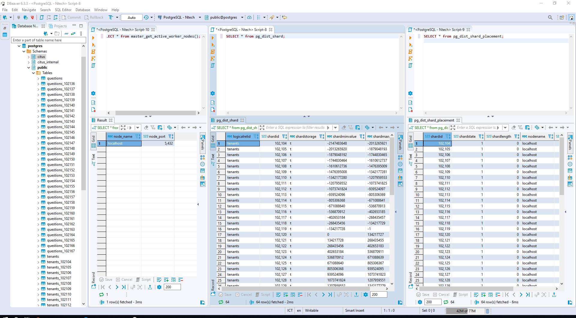 Xây dựng web app multi-tenant đơn giản với Citus data và AspNet Core