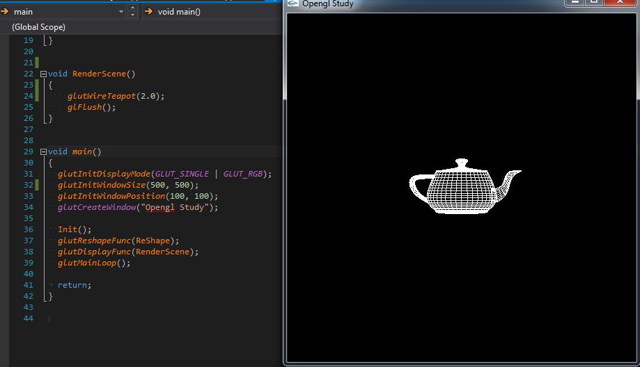 Cách Viết Một Chương Trình OpenGL