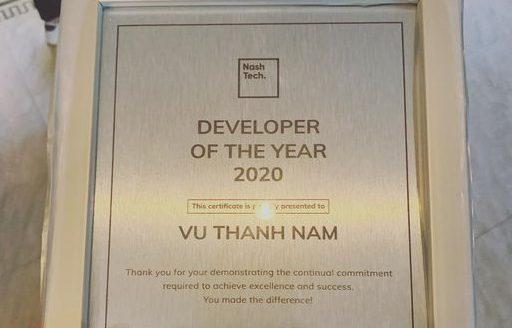 """Cái giá của """"Developer of the year"""""""