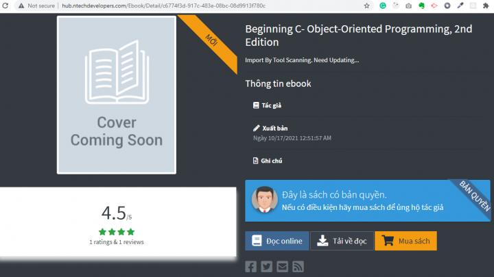 Giới thiệu thư viện sách công nghệ thông tin đọc trực tuyến